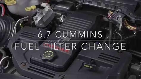 dodge ram 2500 diesel fuel filter location diagram