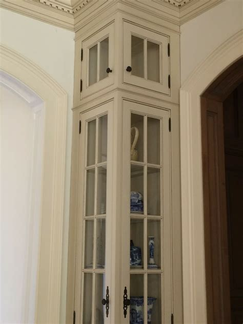 corner cabinet with glass doors best tall kitchen corner cabinet with doors home design