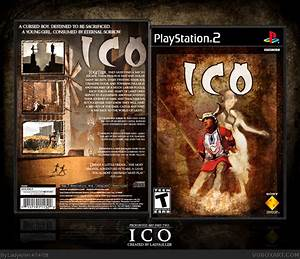 ICO PlayStation 2 Box Art Cover by Ladykiller