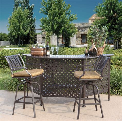 outdoor patio dining sets bar height home bar design