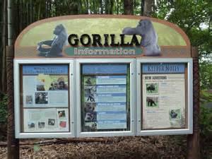 Zoo Exhibit Signs