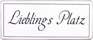 Blechschilder Sprüche Vintage : blechschild lieblingsplatz retro metallschild vintage deko ~ Michelbontemps.com Haus und Dekorationen