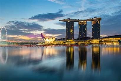 Singapore Cityscape Places Park Merlion Passion Passport
