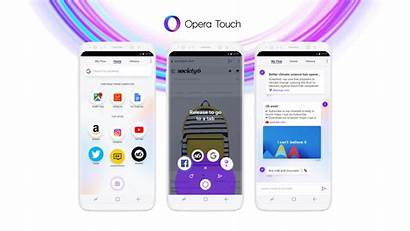 Opera Browser Mobile App Don Touch Google
