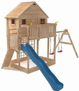 Spielhaus Garten Mit Rutsche : xxl spielturm baumhaus stelzenhaus spielhaus sandkasten ~ Watch28wear.com Haus und Dekorationen