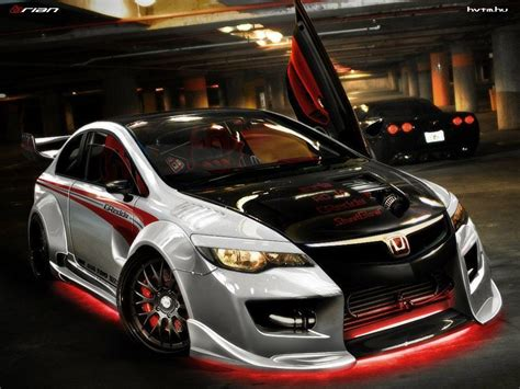 Honda Civic Type R Modification by Honda Civic Wallpapers Wallpaper Cave