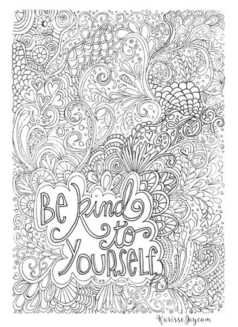 inspiring quote coloring pages  adultsfree printables
