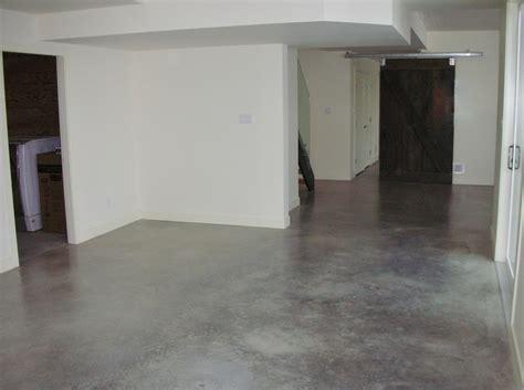 Basement Remodeling Ideas Basement Floor Polished Concrete