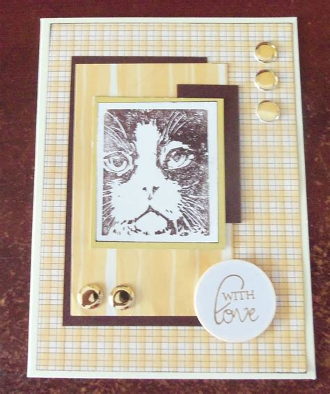 Alizabethy  Card Making Addict! The Cat Collection Part