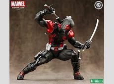 Deadpool Black Suit ArtFX+ Statue