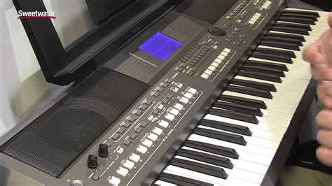 yamaha psr s775 summer namm 2015 yamaha psr s670 arranger keyboard overview by sweetwater