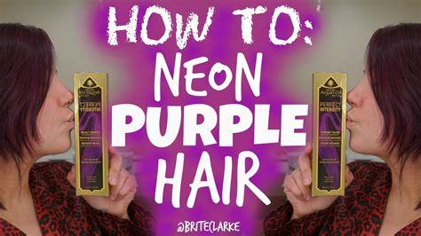 How To Hair by How To Purple Hair Using One N Only Argan Hair Color