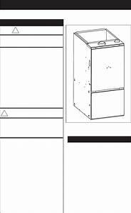 Nordyne Furnace Residential Gas Furnaces User Guide