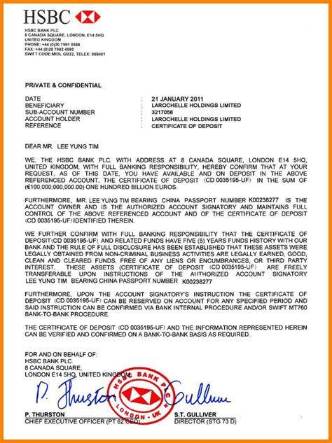 hsbc bank guarantee   company driver