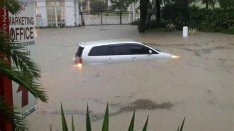 kabar terkini banjir  surabaya barat penyebab banjir