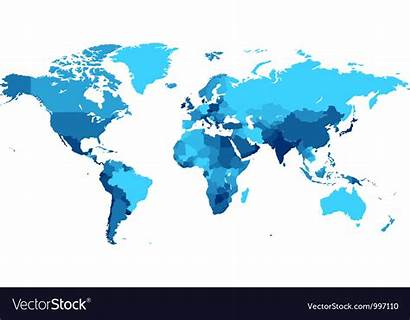 Map Countries Vector Royalty Vectors Composite Vectorstock