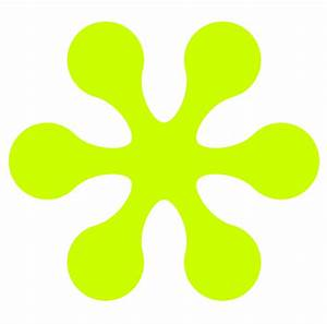 Lime Green Flower Clipart - Clipart Suggest