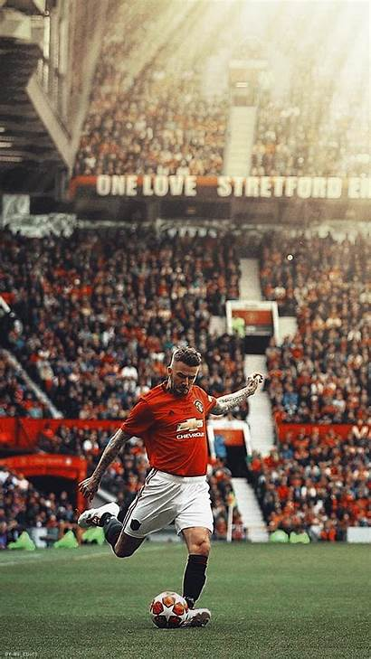 Beckham David Manchester United Wallpapers Trafford Iphone