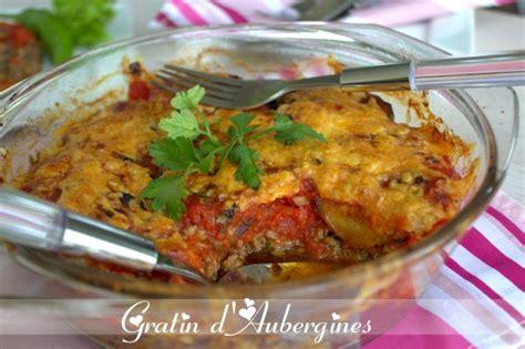 recette de gratin d aubergines amour de cuisine