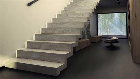 escalier interieur beton obasinc