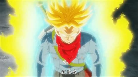 trunks super saiyan rage dragon ball super episodio