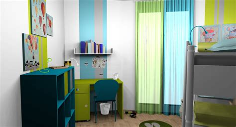 chambre garcon bleu turquoise chambre garcon turquoise vert anis