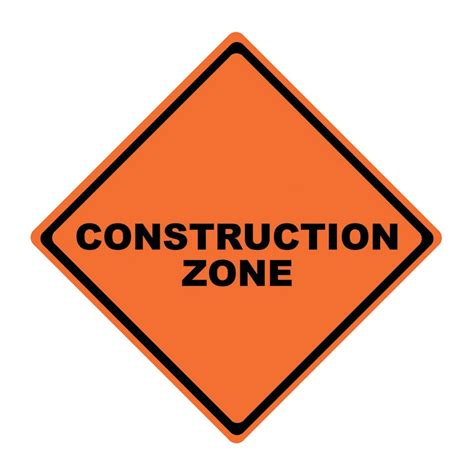 Construction Zone  Road Sign & Stand. Temporary Handicap Placard. Piru Signs. Goodbye Banners. Black Cherry Stickers. Eccentric Signs Of Stroke. Thanksgiving Signs Of Stroke. Jute Banners. Fashion Store Banners