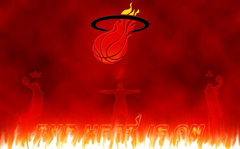 miami heat basketball club logos hd wallpapers
