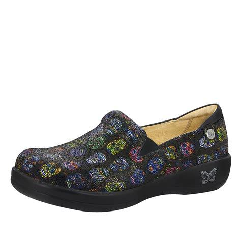 alegria keli pro sugar skulls dottie comfort shoe