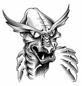 Demon Skull Tattoo Designs