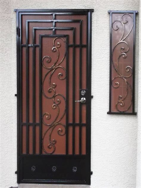 Security Doors  Artistic Iron Works  Ornamental Wrought. Front Door Window Coverings. Vintage Exterior Doors. Glass Cabinet Door. Garage Door Repair Dallas. Carriage Door Hardware For Garage Doors. Garage Doors Katy Tx. Overhead Door Garage Door Remote. Naperville Garage Door Repair