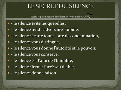 le secret du silence citations