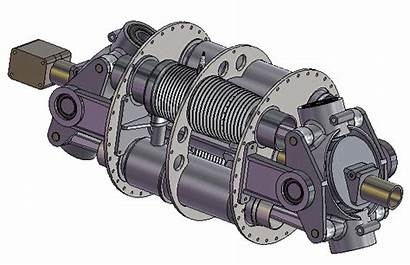 Axial Engine Combustion Internal Engines Animated Self