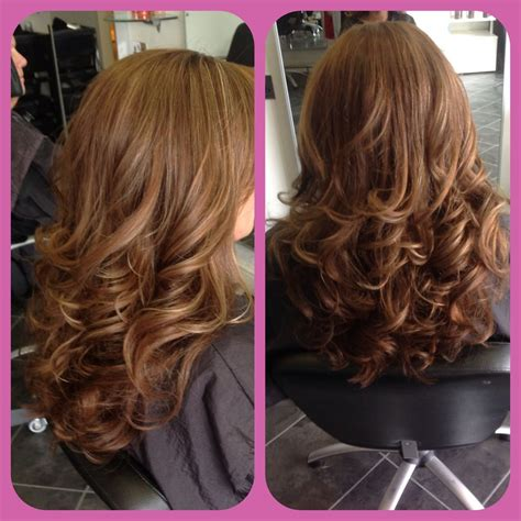 bouncy blow dry hairstyles   hair curly blowdry
