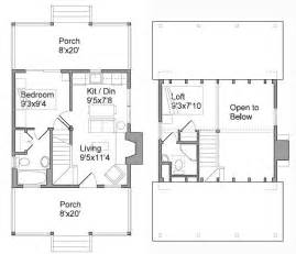 Compact House Plan by Tiny House Plans
