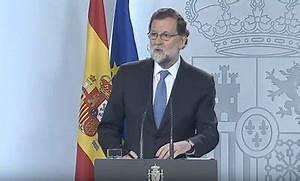 Spain PM dissolves Catalan parliament