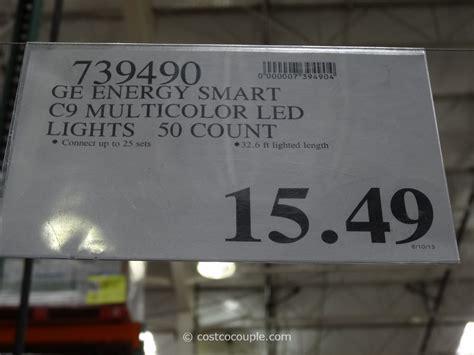 ge energy smart c9 multicolor led lights