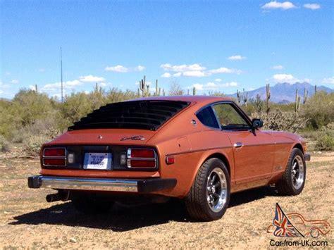 1976 Datsun 260z by 1976 Datsun Nissan 280z Factory Ac Air Low Mile Survivor