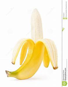 Half Peeled Banana Stock Images - Image: 18160374