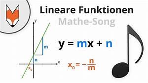 Mathe Flächeninhalt Berechnen : lineare funktionen mathe song youtube ~ Themetempest.com Abrechnung