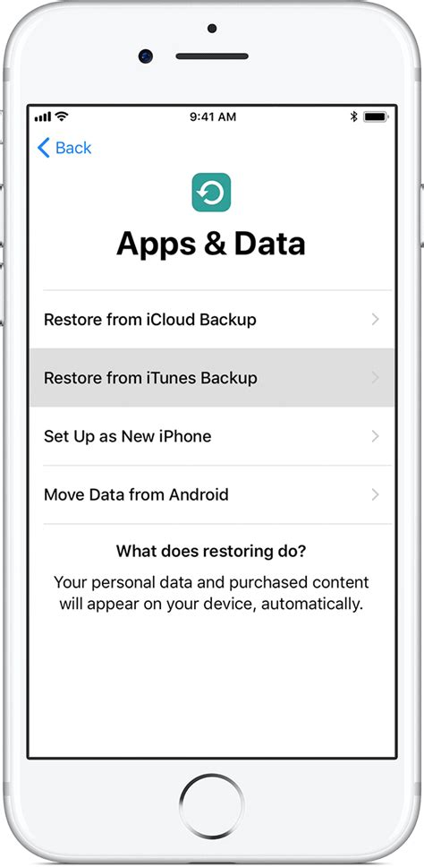 do you restore an iphone restore new iphone from itunes picture why restore new