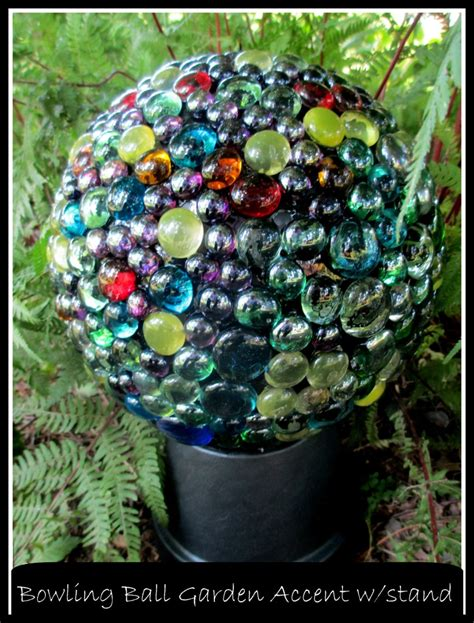 Diy Project  Bowling Ball Garden Accent  Our Fairfield