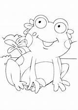 Frog Coloring Tadpole Worksheets Printable Frogs Sheet Getcolorings Animals Preschoolers Colorings Parentune sketch template