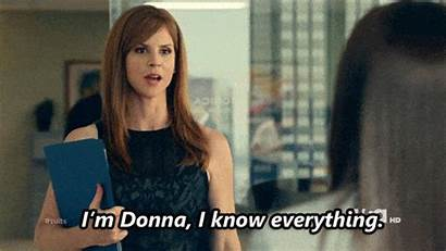 Donna Suits Tv Paulsen Everything Knows