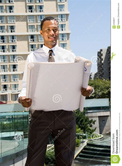black male architect royalty  stock photography