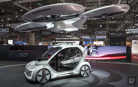 audi  airbus flying taxi concept  stylish makeover