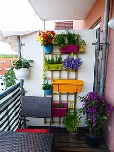 Vertikaler Garten Balkon : meine kleine balkon oase der wohnsinn ~ Frokenaadalensverden.com Haus und Dekorationen