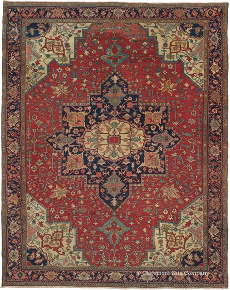 one rug guide antique serapi rugs and carpets from northwest