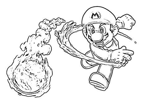 Mario Coloring Pages To Print Free - Eskayalitim
