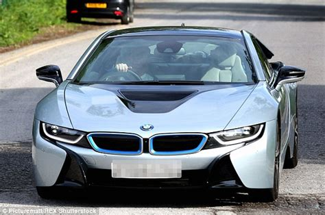 Wayne Rooney Of Manchester United Buys A Bmw I8